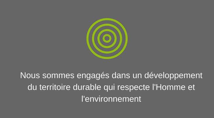 engagement développement durable